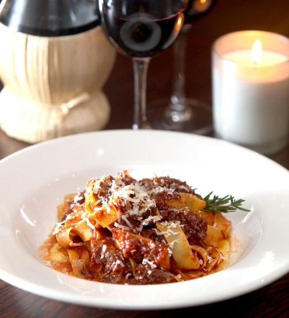 Mary Contini's papardelle with beef cheek ragu