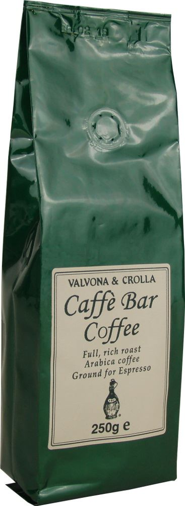 V&C Caffe Bar Espresso Ground Coffee 250g