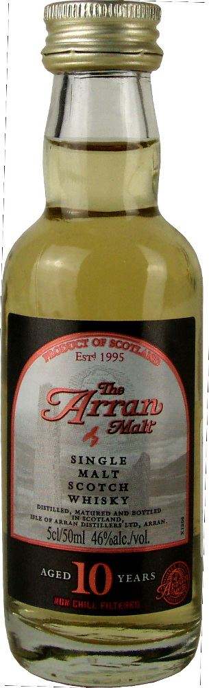 Arran 10YO Miniature 5cl