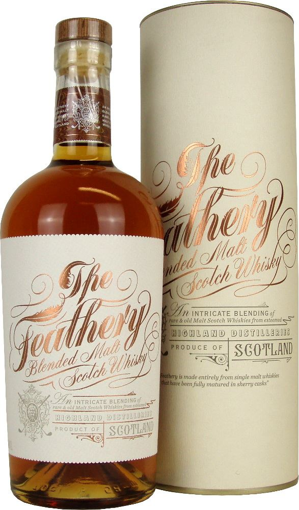 The Feathery Vatted Malt 40% Spencerfield 70cl