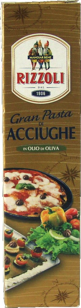 Anchovy Paste Tube Rizzoli 60g
