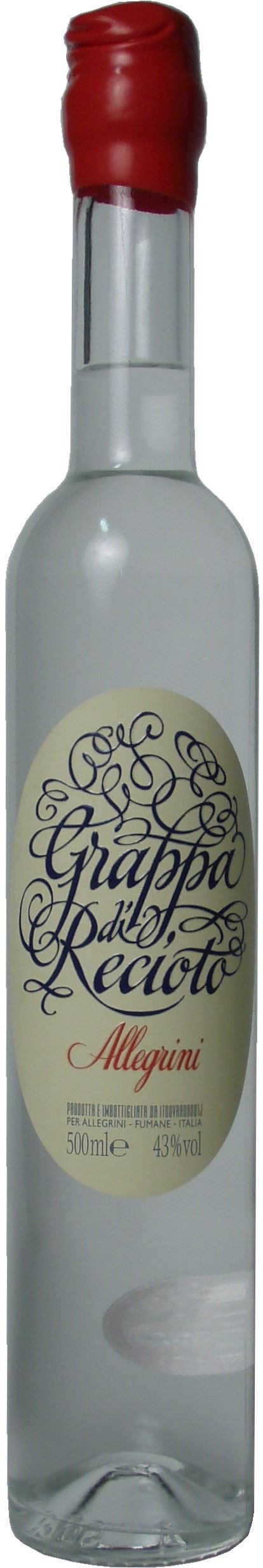 Grappa di Recioto Allegrini 50cl