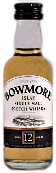 Bowmore 12yo 40% Miniature 5cl