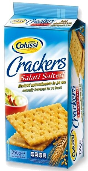 Salted Crackers 250g Colussi