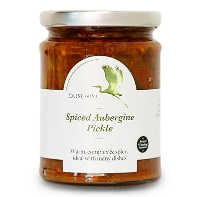 Spiced Aubergine Pickle 290g