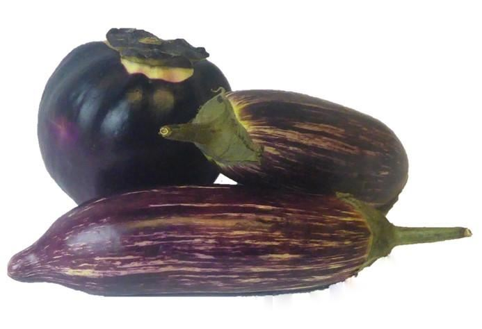 Violet Aubergines Melenzane approximate weight 1kg