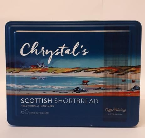 Large Chrystals Shortbread Tin 725g