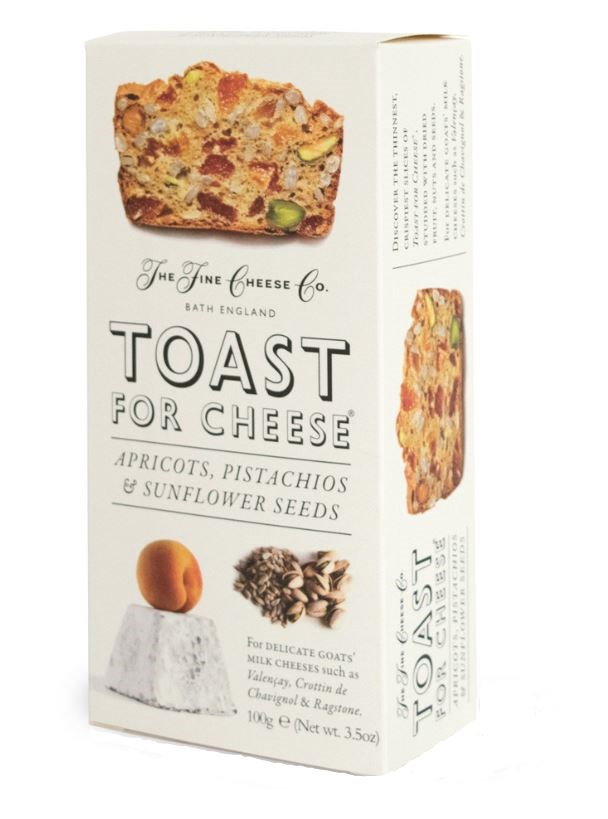 Apricot, Pistachio & Sunflower Seed Toast for cheese 100g