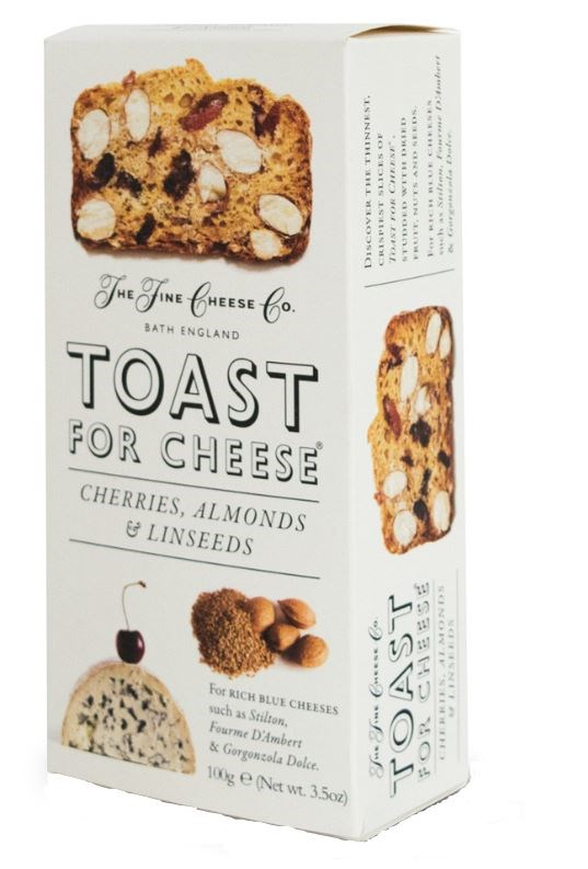 Cherry, Almond and Linseed Toast for Cheese 100g