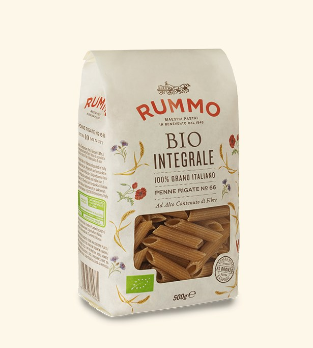Rummo Wholemeal Penne Rigate no66 500G