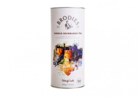 Brodies Famous Edinburgh Teabag Drum 125g 著名爱丁堡桶装茶包