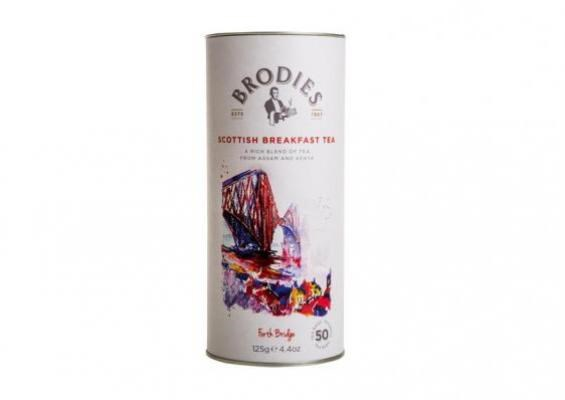 Brodies Scottish Breakfast Teabag Drum 125g 苏格兰早餐茶叶罐