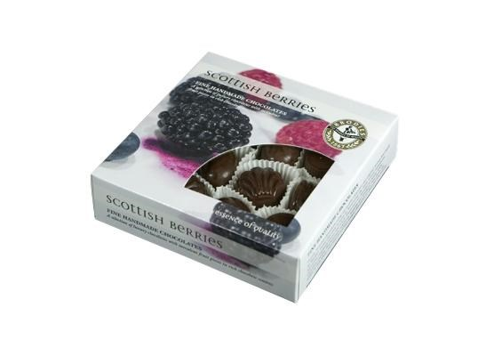 Scottish Chocolate Berries Box 180g
