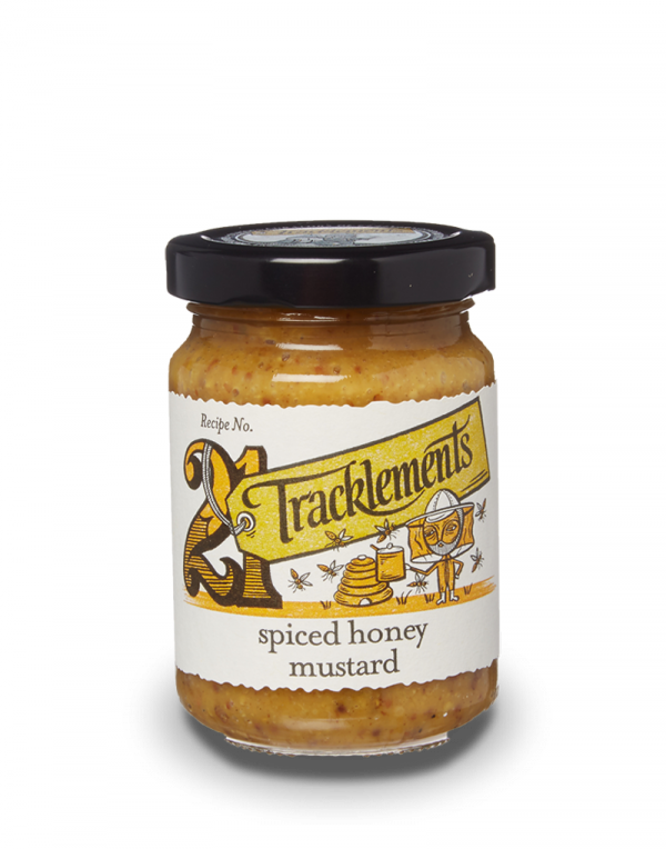 Spiced Honey Mustard 140g Tracklements