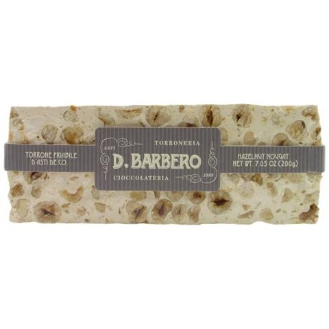 Crumbly Barbero Torrone with Hazelnut 200g