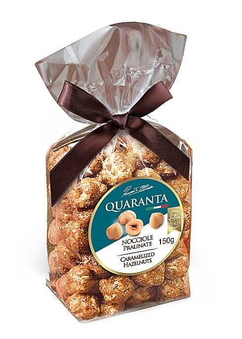 Quaranta Caremalized Hazelnuts 150g