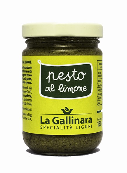 Lemon Pesto 130g La Gallinara