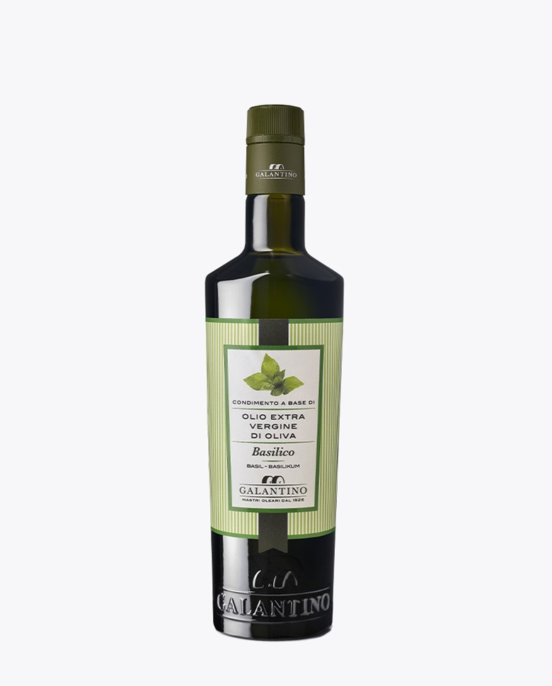 Basil Extra Virgin Olive Oil Galantino 25cl
