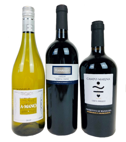 Puglia Three Bottle Gift