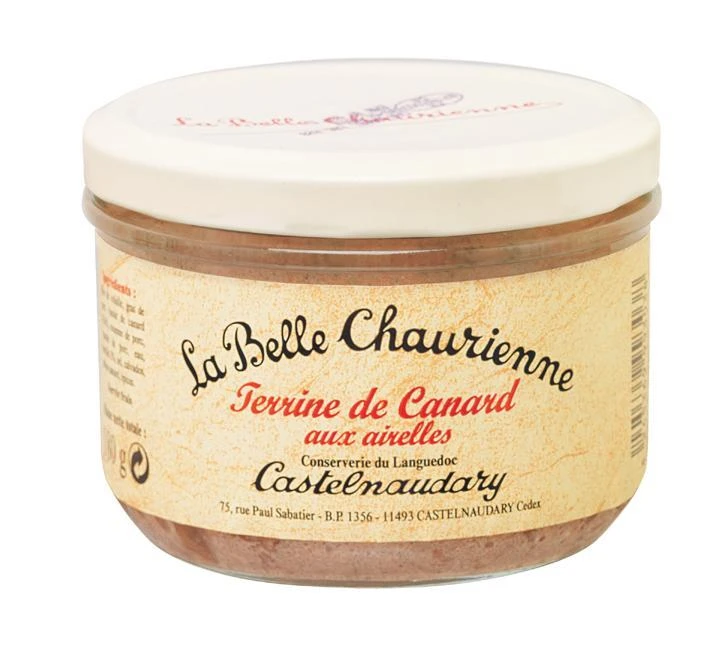 La Belle Chaurienne Duck and Cranberry Pate 180g