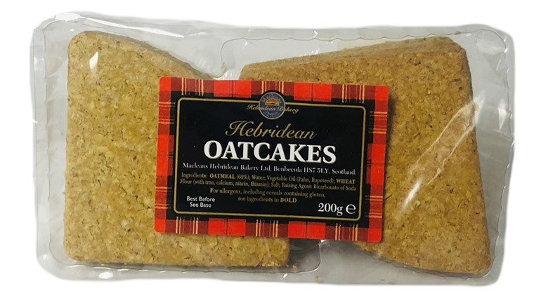 Macleans of Benbecula Triangle Oatcakes 200g