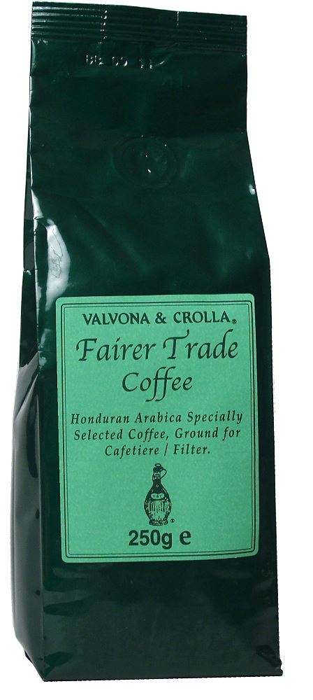 V&C Fairer Trade Coffee 250g